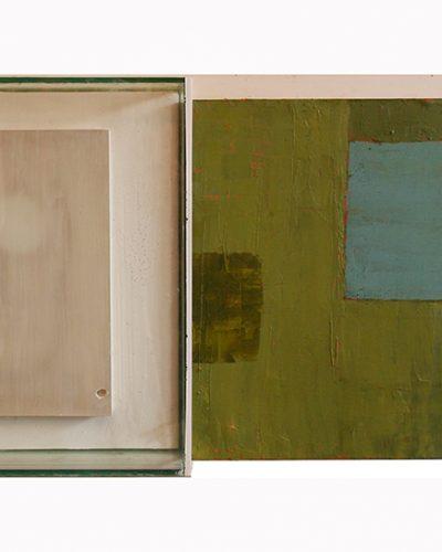 Simon Levy. Painting Object. Conceptual Art.